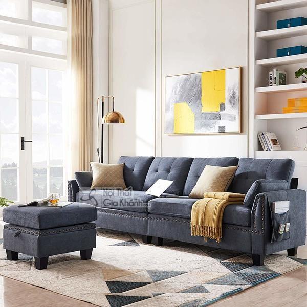 1001 cách kết hợp đồ nội thất với sofa màu xám lông chuột cực thu hút! - 1001 cach ket hop do noi that voi sofa mau xam long chuot cuc thu hut 2