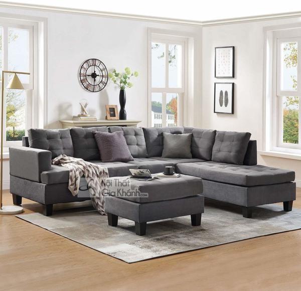 1001 cách kết hợp đồ nội thất với sofa màu xám lông chuột cực thu hút! - 1001 cach ket hop do noi that voi sofa mau xam long chuot cuc thu hut 3