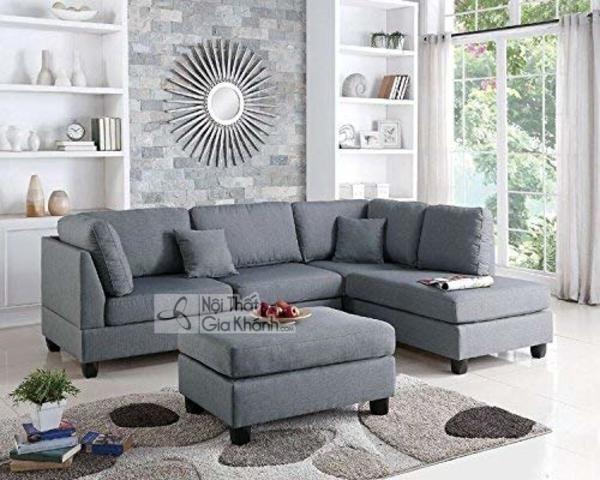 1001 cách kết hợp đồ nội thất với sofa màu xám lông chuột cực thu hút! - 1001 cach ket hop do noi that voi sofa mau xam long chuot cuc thu hut 5