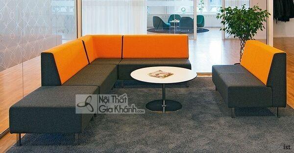 20 mẫu ghế sofa phòng chờ: Tiện mà không kém sang! - 20 mau ghe sofa phong cho tien ma khong kem sang 11