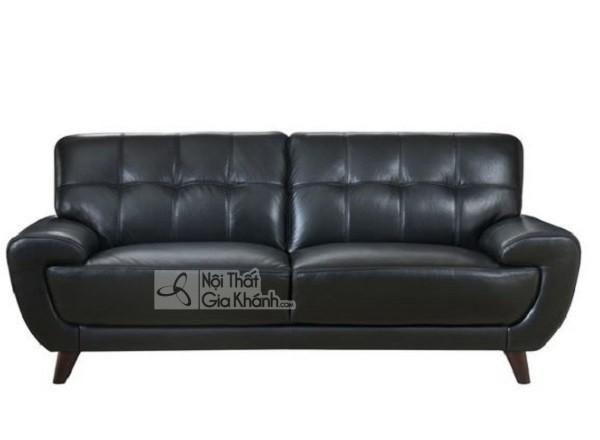 50 mẫu ghế sofa màu đen ấn tượng, lôi cuốn - 50 mau ghe sofa mau den an tuong loi cuon 11
