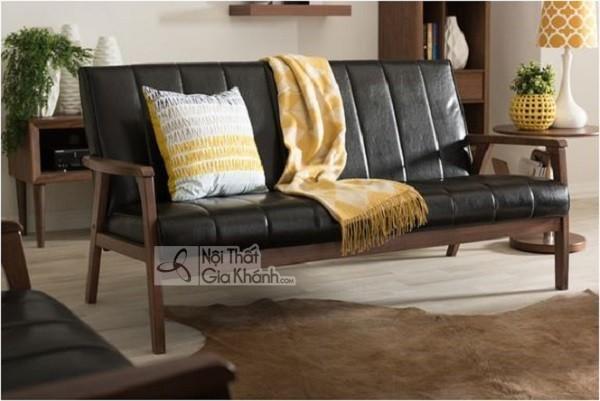 50 mẫu ghế sofa màu đen ấn tượng, lôi cuốn - 50 mau ghe sofa mau den an tuong loi cuon 12
