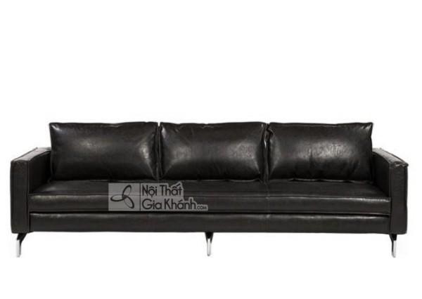 50 mẫu ghế sofa màu đen ấn tượng, lôi cuốn - 50 mau ghe sofa mau den an tuong loi cuon 13