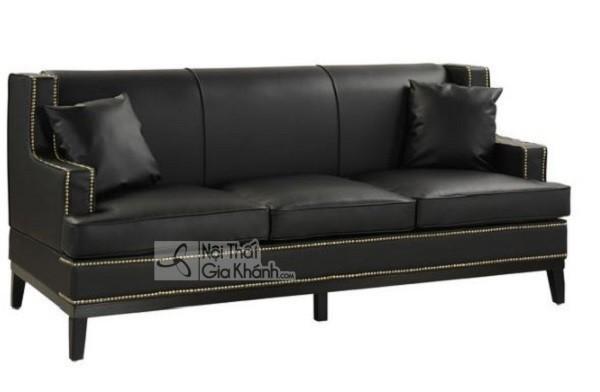 50 mẫu ghế sofa màu đen ấn tượng, lôi cuốn - 50 mau ghe sofa mau den an tuong loi cuon 17