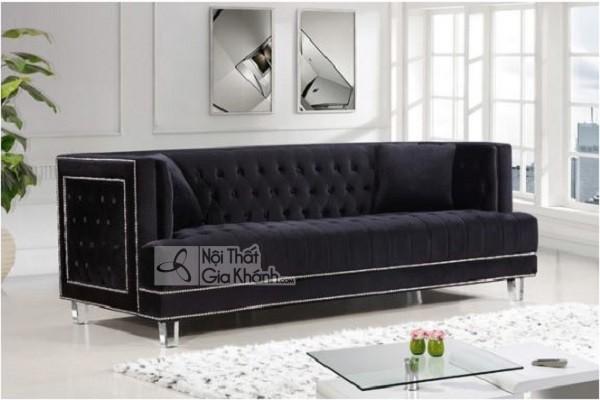 50 mẫu ghế sofa màu đen ấn tượng, lôi cuốn - 50 mau ghe sofa mau den an tuong loi cuon 18