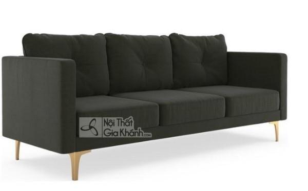 50 mẫu ghế sofa màu đen ấn tượng, lôi cuốn - 50 mau ghe sofa mau den an tuong loi cuon 19