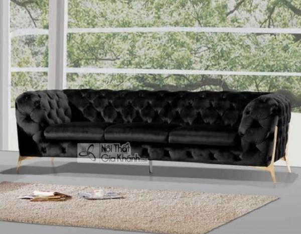 50 mẫu ghế sofa màu đen ấn tượng, lôi cuốn - 50 mau ghe sofa mau den an tuong loi cuon 21