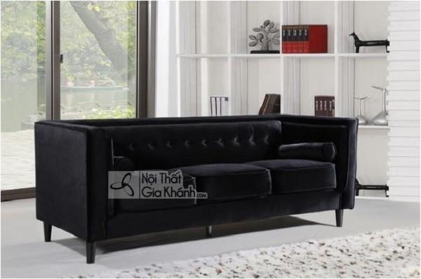 50 mẫu ghế sofa màu đen ấn tượng, lôi cuốn - 50 mau ghe sofa mau den an tuong loi cuon 22
