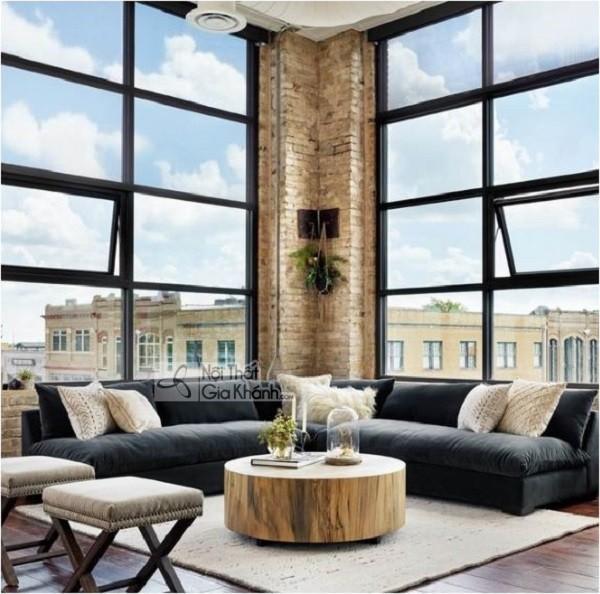 50 mẫu ghế sofa màu đen ấn tượng, lôi cuốn - 50 mau ghe sofa mau den an tuong loi cuon 24