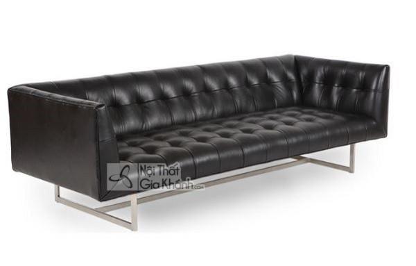 50 mẫu ghế sofa màu đen ấn tượng, lôi cuốn - 50 mau ghe sofa mau den an tuong loi cuon 25