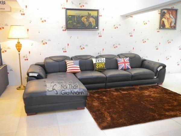 50 mẫu ghế sofa màu đen ấn tượng, lôi cuốn - 50 mau ghe sofa mau den an tuong loi cuon 3