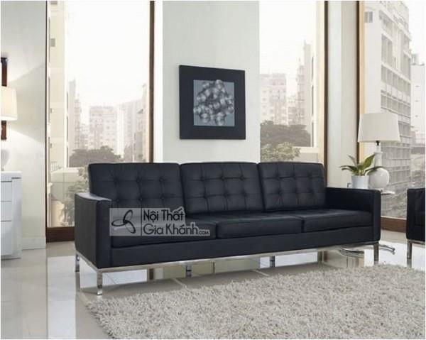 50 mẫu ghế sofa màu đen ấn tượng, lôi cuốn - 50 mau ghe sofa mau den an tuong loi cuon 30
