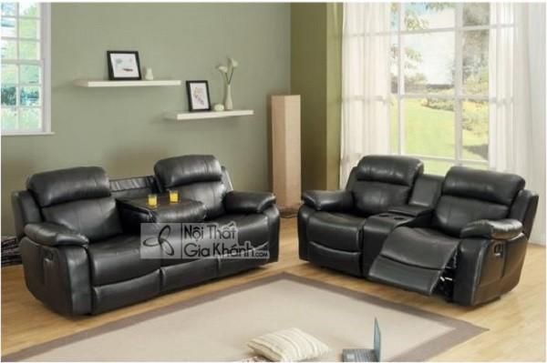 50 mẫu ghế sofa màu đen ấn tượng, lôi cuốn - 50 mau ghe sofa mau den an tuong loi cuon 33