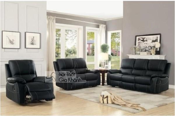 50 mẫu ghế sofa màu đen ấn tượng, lôi cuốn - 50 mau ghe sofa mau den an tuong loi cuon 38