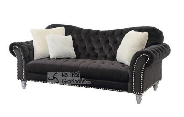 50 mẫu ghế sofa màu đen ấn tượng, lôi cuốn - 50 mau ghe sofa mau den an tuong loi cuon 39