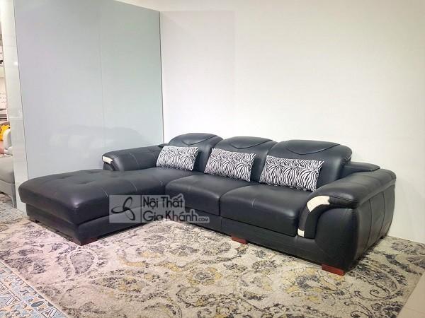 50 mẫu ghế sofa màu đen ấn tượng, lôi cuốn - 50 mau ghe sofa mau den an tuong loi cuon 4