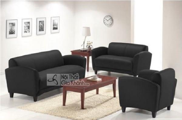 50 mẫu ghế sofa màu đen ấn tượng, lôi cuốn - 50 mau ghe sofa mau den an tuong loi cuon 40