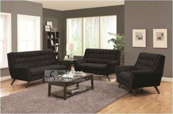 50 mẫu ghế sofa màu đen ấn tượng, lôi cuốn - 50 mau ghe sofa mau den an tuong loi cuon 49