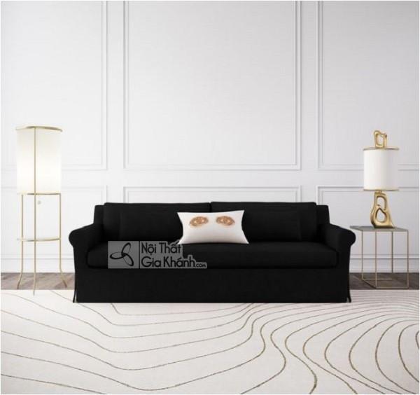 50 mẫu ghế sofa màu đen ấn tượng, lôi cuốn - 50 mau ghe sofa mau den an tuong loi cuon 50