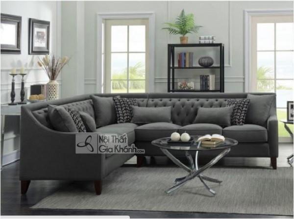 50 mẫu ghế sofa màu đen ấn tượng, lôi cuốn - 50 mau ghe sofa mau den an tuong loi cuon 53