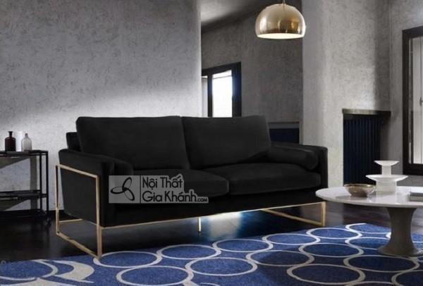 50 mẫu ghế sofa màu đen ấn tượng, lôi cuốn - 50 mau ghe sofa mau den an tuong loi cuon 54