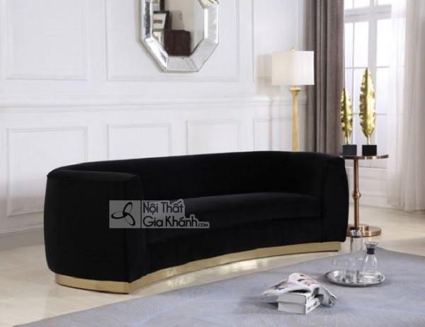 50 mẫu ghế sofa màu đen ấn tượng, lôi cuốn - 50 mau ghe sofa mau den an tuong loi cuon 7