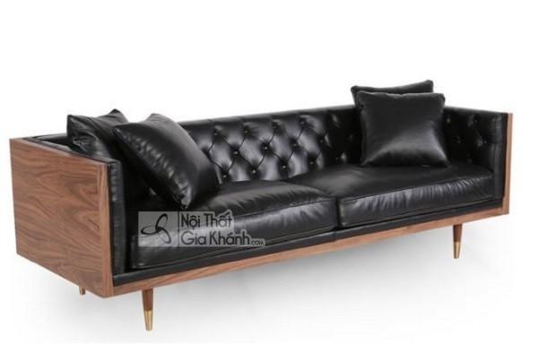 50 mẫu ghế sofa màu đen ấn tượng, lôi cuốn - 50 mau ghe sofa mau den an tuong loi cuon 8