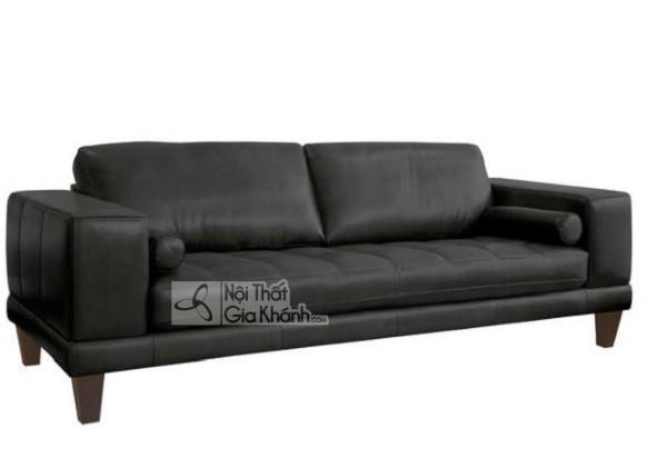 50 mẫu ghế sofa màu đen ấn tượng, lôi cuốn - 50 mau ghe sofa mau den an tuong loi cuon 9