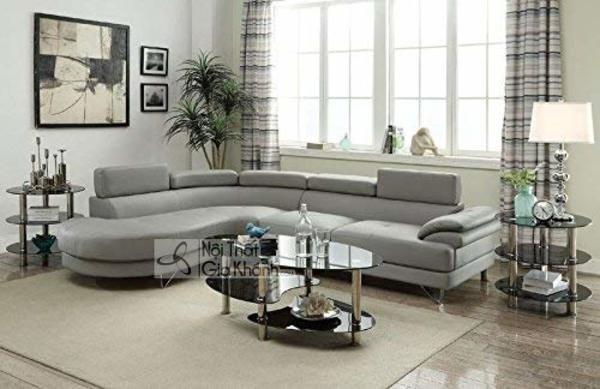 50+ Mẫu sofa căn hộ chung cư cao cấp đẹp ấn tượng nhất 2020 - 50 mau sofa can ho chung cu cao cap dep an tuong nhat 2020 32