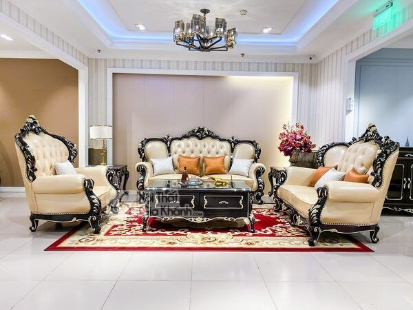 bộ sofa da hoàng da nhập khẩu