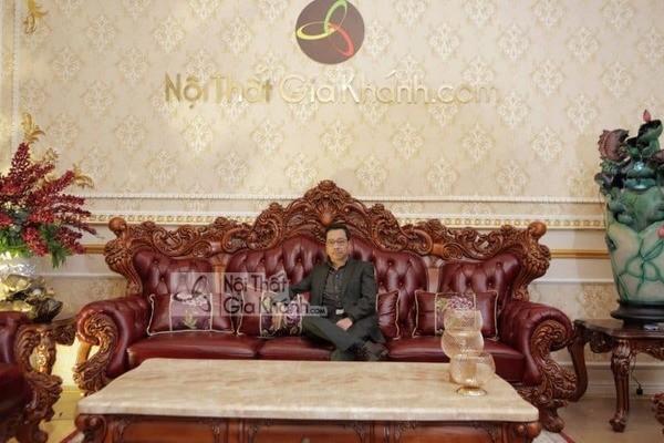 bộ sofa cổ điển thời thượng