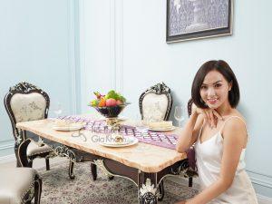 Siêu thị nội thất nhập khẩu top 1 Hà Nội - ban an go mat da tan co dien sang trong ba8801gd 16 4 300x225