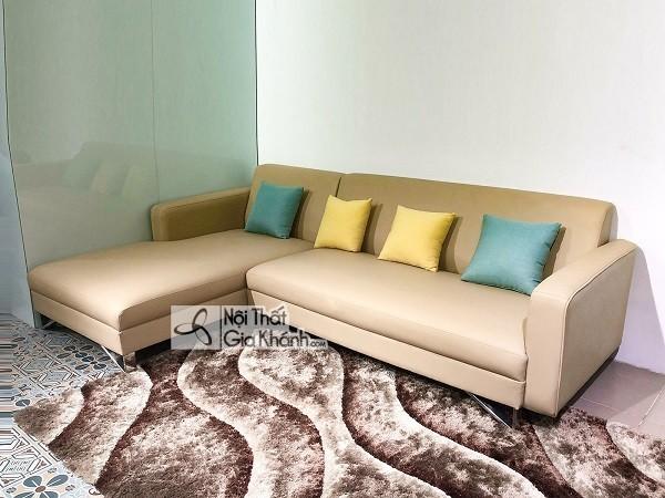 Bí quyết chọn mua ghế sofa gỗ cho phòng khách nhỏ - bi quyet chon ghe sofa go cho phong khach nho 1