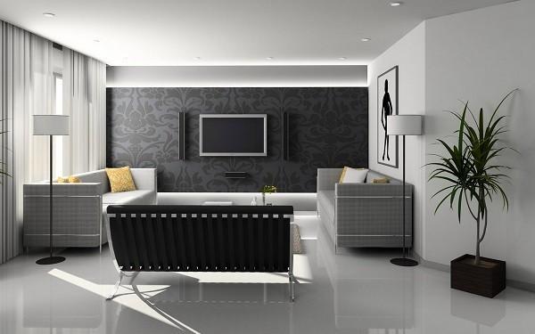 Bố trí sofa trong phòng khách như thế