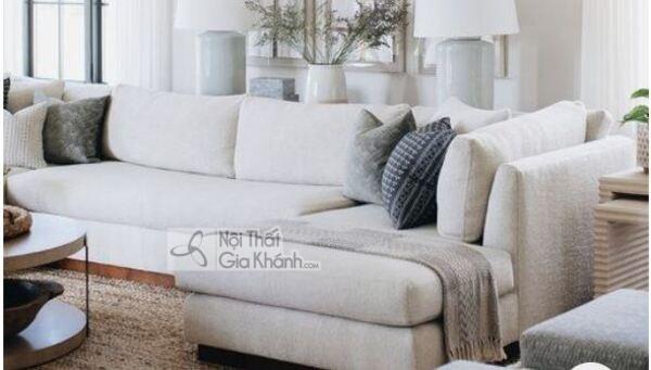 [BST] 35 Ghế sofa màu trắng kem đẹp mê ly cho phòng khách - bst 35 ghe sofa mau trang kem dep me ly cho phong khach 12