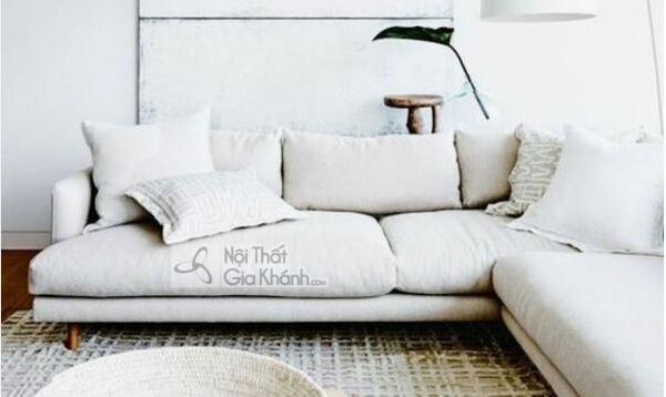 [BST] 35 Ghế sofa màu trắng kem đẹp mê ly cho phòng khách - bst 35 ghe sofa mau trang kem dep me ly cho phong khach 17