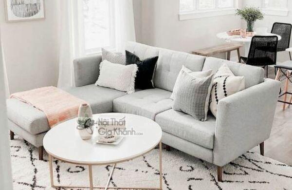[BST] 35 Ghế sofa màu trắng kem đẹp mê ly cho phòng khách - bst 35 ghe sofa mau trang kem dep me ly cho phong khach 18