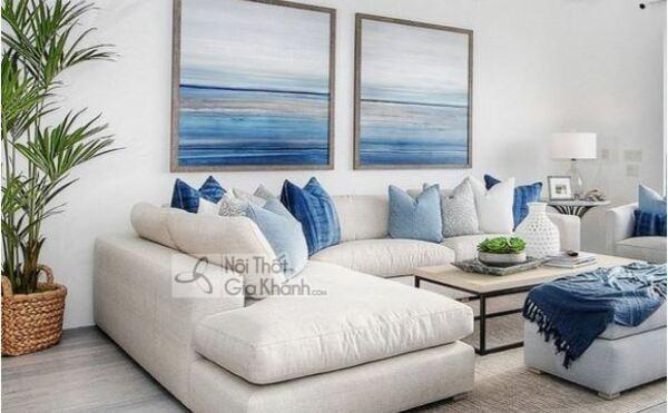 [BST] 35 Ghế sofa màu trắng kem đẹp mê ly cho phòng khách - bst 35 ghe sofa mau trang kem dep me ly cho phong khach 19