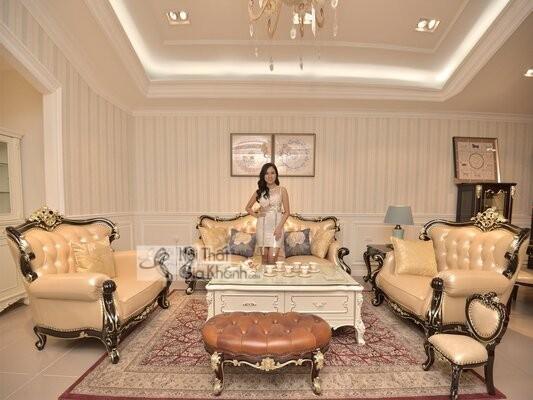 [BST] 35 Ghế sofa màu trắng kem đẹp mê ly cho phòng khách - bst 35 ghe sofa mau trang kem dep me ly cho phong khach 2
