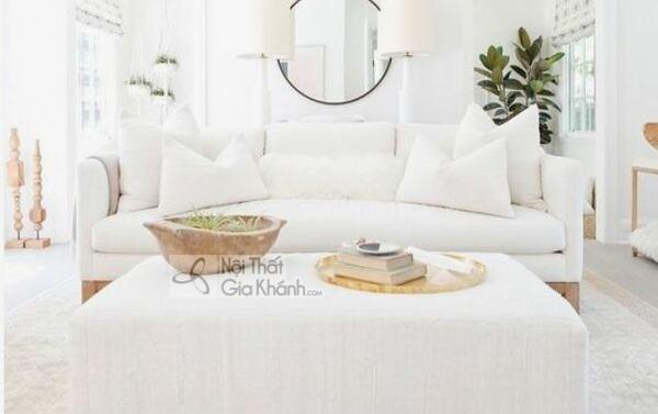 [BST] 35 Ghế sofa màu trắng kem đẹp mê ly cho phòng khách - bst 35 ghe sofa mau trang kem dep me ly cho phong khach 23