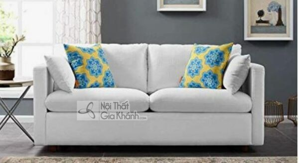 [BST] 35 Ghế sofa màu trắng kem đẹp mê ly cho phòng khách - bst 35 ghe sofa mau trang kem dep me ly cho phong khach 24