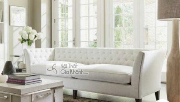 [BST] 35 Ghế sofa màu trắng kem đẹp mê ly cho phòng khách - bst 35 ghe sofa mau trang kem dep me ly cho phong khach 25