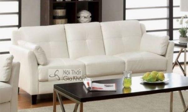 [BST] 35 Ghế sofa màu trắng kem đẹp mê ly cho phòng khách - bst 35 ghe sofa mau trang kem dep me ly cho phong khach 29
