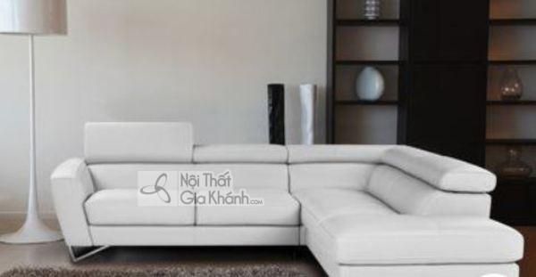 [BST] 35 Ghế sofa màu trắng kem đẹp mê ly cho phòng khách - bst 35 ghe sofa mau trang kem dep me ly cho phong khach 30