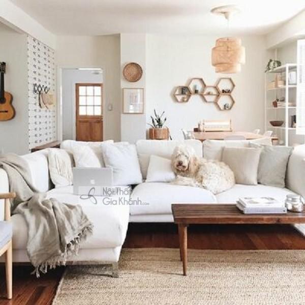 [BST] 35 Ghế sofa màu trắng kem đẹp mê ly cho phòng khách - bst 35 ghe sofa mau trang kem dep me ly cho phong khach 38