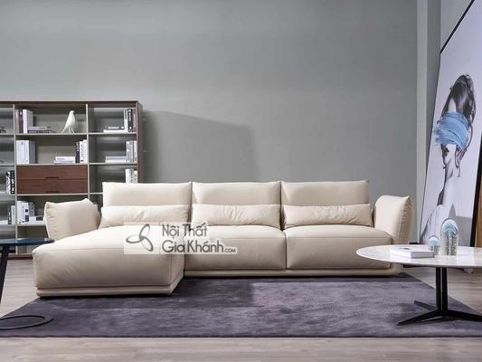 [BST] 35 Ghế sofa màu trắng kem đẹp mê ly cho phòng khách - bst 35 ghe sofa mau trang kem dep me ly cho phong khach 4