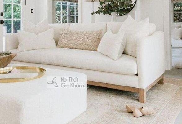 [BST] 35 Ghế sofa màu trắng kem đẹp mê ly cho phòng khách - bst 35 ghe sofa mau trang kem dep me ly cho phong khach 5