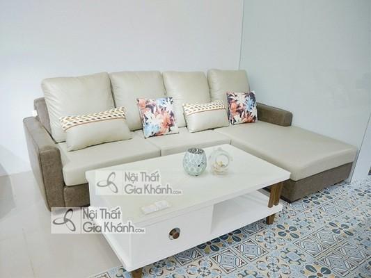 [BST] 35 Ghế sofa màu trắng kem đẹp mê ly cho phòng khách - bst 35 ghe sofa mau trang kem dep me ly cho phong khach 7