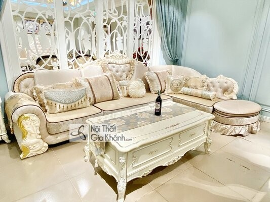 [BST] 35 Ghế sofa màu trắng kem đẹp mê ly cho phòng khách - bst 35 ghe sofa mau trang kem dep me ly cho phong khach