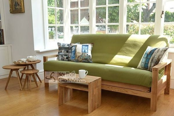 Có nên sử dụng ghế sofa gỗ sồi nệm cho phòng khách hay không? - co nen su dung ghe sofa go soi nem cho phong khach hay khong 4
